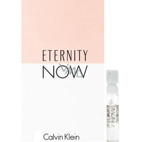 Calvin Klein Eternity Now parfémovaná voda pro ženy 1,2 ml s rozprašovačem, Vialka