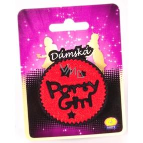 Albi Dámská jízda Brož Party Girl červená 1 kus