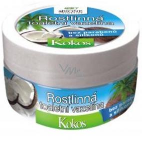 Bione Cosmetics Bio Kokos Rostlinná toaletní vazelína 155 ml