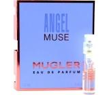 Thierry Mugler Angel Muse parfémovaná voda pro ženy 1,5 ml s rozprašovačem, Vialka