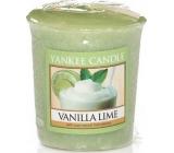 Yankee Candle Vanilla Lime - Vanilka s limetkou vonná svíčka votivní 49 g