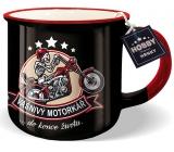 Nekupto Hobby hrnek s nápisem Vášnivý motorkář 250 ml