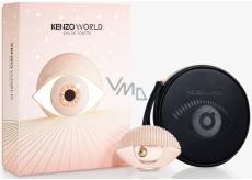 Kenzo World Eau de Toilette toaletní voda pro ženy 50 ml + kosmetická taštička, dárková sada