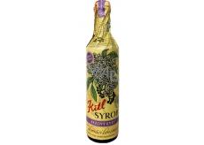 Kitl Syrob BIo Bezový květ sirup ručně sbíraných květů pro domácí limonády 500 ml