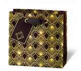 BSB Luxusní dárková papírová taška 145 x 15 x 6 cm Art Deco LDT 412 - CD