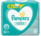 Pampers Sensitive vlhčené ubrousky pro děti 4 x 52 kusů