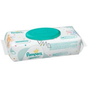 Pampers Sensitive Vlhčené ubrousky pro citlivou pokožku dětí 56 kusů