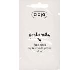 Ziaja Kozí mléko pleťová maska pro suchou pleť 7 ml