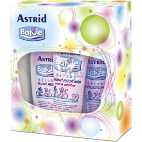 Astrid Batole tělové mléko 200 ml + tělový olej 200 ml + pleťový krém 75 ml, kosmetická sada