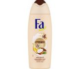 Fa Cream & Oil Kakaové máslo a kokosový olej sprchový gel 250 ml