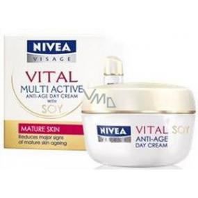 Nivea Visage Vital Multi Active Sója denní krém proti vráskám 50 ml
