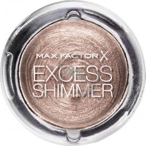 Max Factor Excess Shimmer Eyeshadow gelové oční stíny 20 Copper 7 g