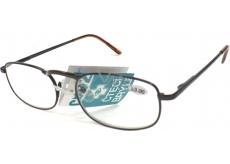 Berkeley Čtecí dioptrické brýle +3,0 hnědé kov CB02 1 kus MC2005
