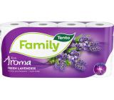 Tento Family Fresh Lavender parfémovaný toaletní papír 2 vrstvý 150 útržků 8 kusů