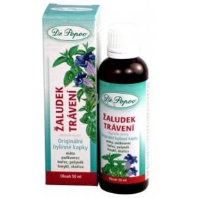 Dr.Popov Žaludek & trávení originální bylinné kapky 50 ml
