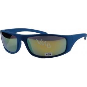 Dudes & Dudettes JK439 modré - žluté sklo sluneční brýle pro děti