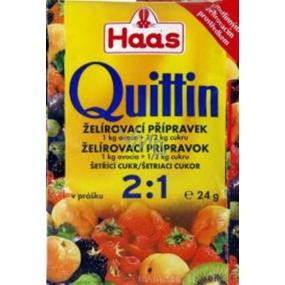 Haas Quittin 2:1 želírovací přípravek 24 g