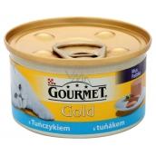 Gourmet Gold Cat Tuňák konzerva pro dospělé kočky 85 g