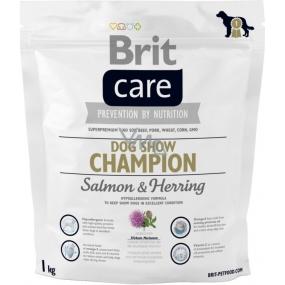 Brit Care Dog Show Champion Salmon & Herring prémiové krmivo pro psy všech plemen 1 kg