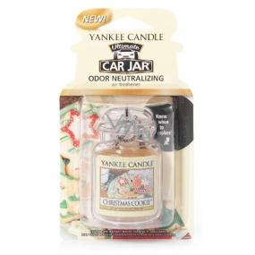 Yankee Candle Christmas Cookie - Vánoční cukroví gelová vonná visačka do auta 30 g
