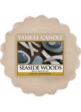 Yankee Candle Seaside Woods - Přímořské dřeva vonný vosk do aromalampy 22 g