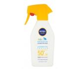 Nivea Sun Kids F50+ sensitive opalovací voděodolný neparfémovaný sprej 300 ml