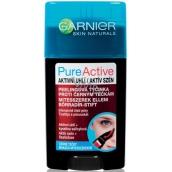 Garnier Pure Active Charcoal Aktivní uhlí peelingová tyčinka proti černým tečkám 50 ml