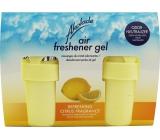 Akolade Air Freshener Citrus solid gel osvěžovač vzduchu 2 x 150 g