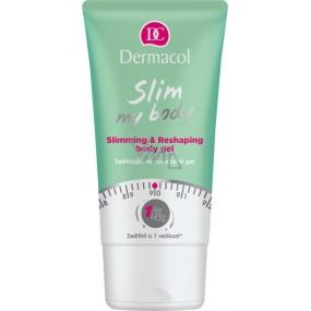 Dermacol Slim My Body zeštíhlující remodelační gel 150 ml