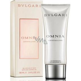 Bvlgari Omnia Crystalline sprchový gel pro ženy 200 ml