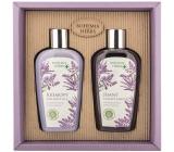 Bohemia Gifts Lavender sprchový gel 250 ml + vlasový šamon 250 ml, kosmetická sada