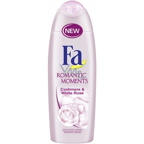 Fa Romantic Moments Cashmere & White Rose sprchový gel 250 ml