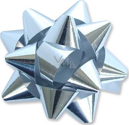 Nekupto Hvězdice velká metal stříbrná 8 cm