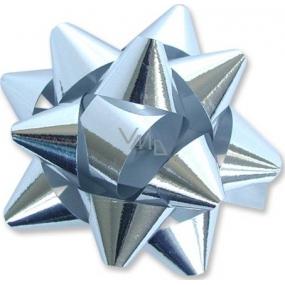 Nekupto Hvězdice velká metal stříbrná HY 8 cm