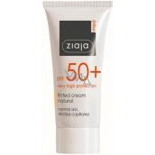 Ziaja Med Protecting SPF 50+ UVA + UVB tónující krém pro normální pleť 50 ml