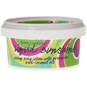 Bomb Cosmetics Západ slunce Přírodní tělové mléko ručně vyrobeno 210 ml