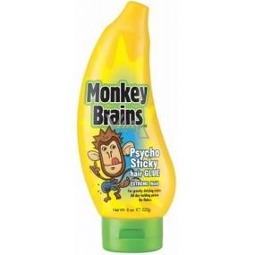 Monkey Brains Psycho Sticky Extreme Hold extrémně tužící gel na vlasy 225 g