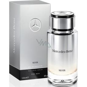 Mercedes-Benz Mercedes Benz Silver for Men toaletní voda 120 ml