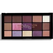 Makeup Revolution Re-Loaded paletka očních stínů Visionary 15 x 1,1 g