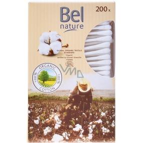 Bel Nature Bio bavlna vatové tyčinky 200 kusů