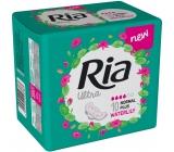 Ria Ultra Normal Plus Waterlily hygienické vložky s křidélky 10 kusů