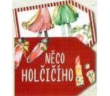 Nekupto Vánoční kartičky na dárky něco holčičího 5,5 x 7,5 cm 6 kusů