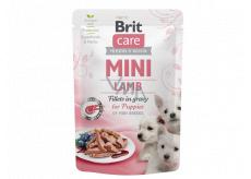 Brit Care Mini Puppy Lamb Fillets In Gravy kompletní superprémiové krmivo pro štěňata mini plemen kapsička 85 g
