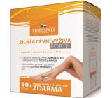 Priessnitz Forte Žilní a cévní výživa doplněk stravy 60 tobolek + De Luxe mazání na žíly a céy 125 ml, sada