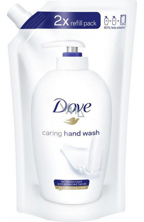 Dove Carring krémové tekuté mýdlo náhradní náplň 500 ml