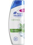 Head & Shoulders Menthol osvěžující šampon proti lupům pro normální a mastné vlasy 400 ml