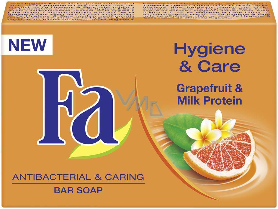 Fa Hygiene & Care tuhé toaletní mýdlo s antibakteriálním efektem 100 g
