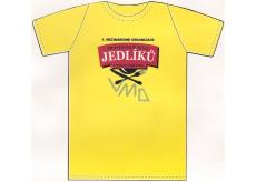 Nekupto Tričko 1. Mezinárodní organizace Profesionálních jedlíků testovací pracovník 1 kus 002