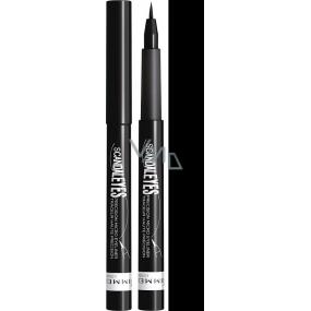 Rimmel London Scandaleyes Precision Micro Eyeliner oční linky ve fixu 001 Black 1,1 ml
