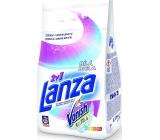 Lanza Vanish Ultra 2v1 Bílá prací prášek s odstraňovačem skvrn na bílé prádlo 15 dávek 1,125 g